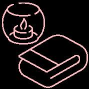 éléments pour massage
